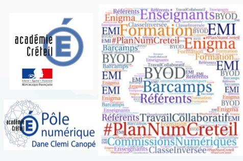 Lancement du plan exceptionnel de formation au numérique dans l'académie de Créteil.